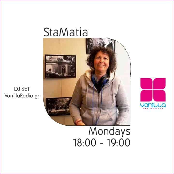 StaMatia Parigora Mix Set | Mondays 18:00 – 19:00 at Vanilla Smooth Flavors