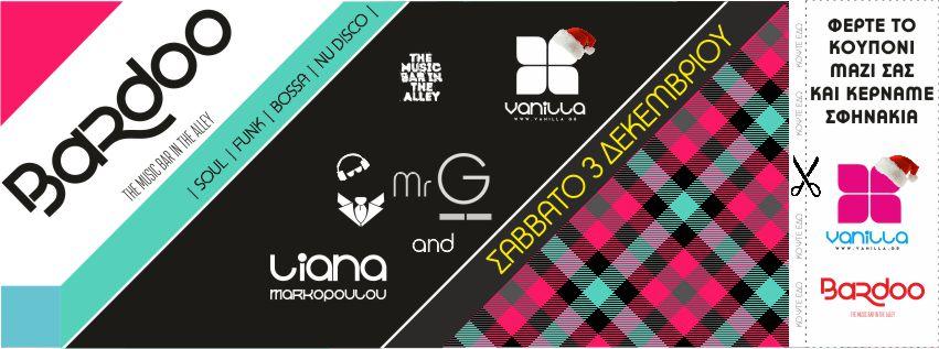 Vanilla Radio goes to P A R T Y at Bardoo * Amaliáda, Greece