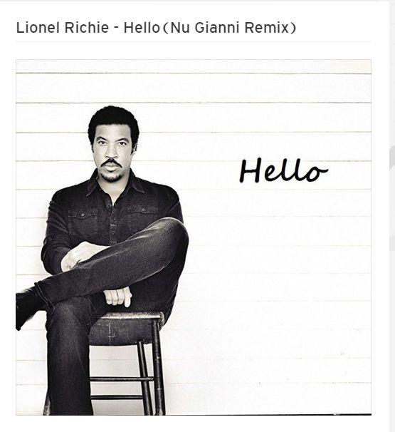 Lionel Richie – Hello(Nu Gianni Remix) :: FREE DOWNLOAD ::