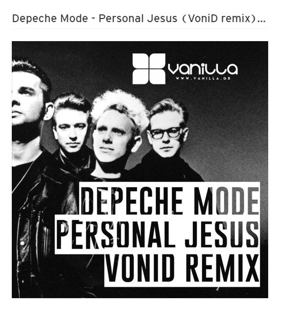 Depeche Mode - Personal Jesus (VoniD remix) [FREE DOWNLOAD]